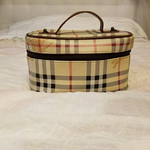 af5b158c2295 Burberry Handbags - BURBERRY organizer cosmetics bag ...